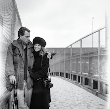 Photo: Thanks to +Daniel Krieger, the Smoothest Dude Alive for making this awesome portrait of me and +Julia Peterson. He shot this on real film with his Hasselblad when we visited him earlier this year in New York.
