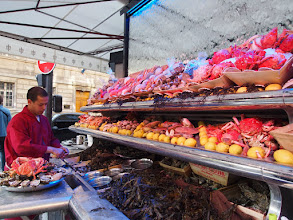 Photo: Fresh seafood (not an oyster fan).