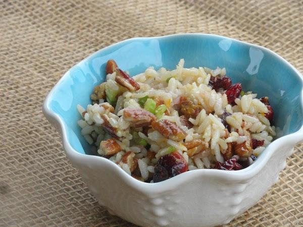 Brown Rice Citrus Salad Recipe