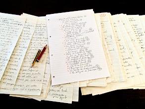 Photo: En escriptura; procés del nou recull de relats breus de Ferran Cerdans Serra