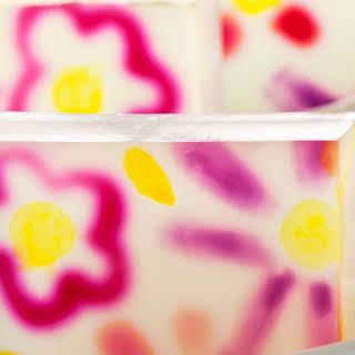 Elderflower Mojito Jelly Shot.