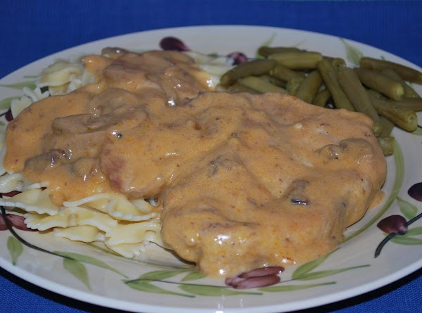 Golden Pork Loin Chop Stroganoff Recipe