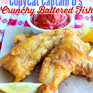 CopyCat Captain D's Crunchy Battered Fish.