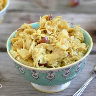 Curry Chicken Pasta Salad.