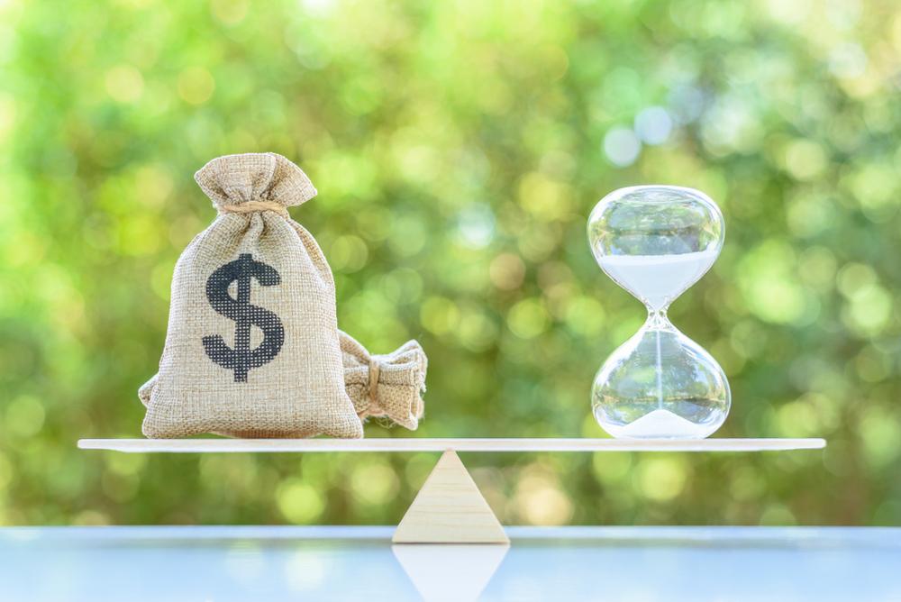 relação tempo e dinheiro
