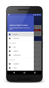 Maldives Flight Schedule- screenshot thumbnail