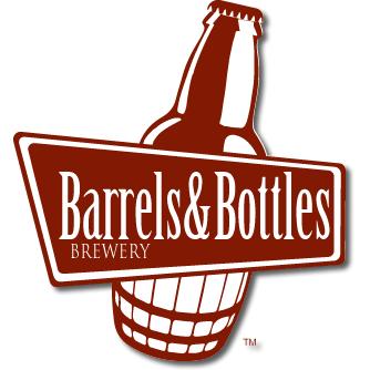 Logo for Barrels & Bottles Brewery at Camp George West