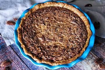 Bourbon Cheesecake Pecan Pie