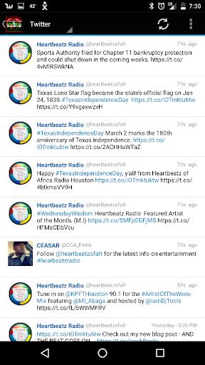 Heartbeatz of Africa Radio  screenshots 2