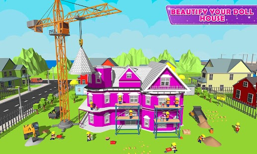 Doll House Design & Decoration 2: Girls House Game - náhled