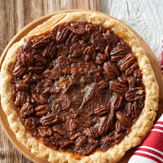 Kentucky Bourbon Pecan Pie.