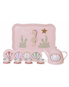 Tea set sea horse