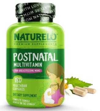 5. NATURELO Post Natal Multivitamin