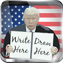 Trump Draws Executive Doodle 2 icon