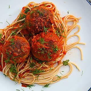 Sicilian Tuna Meatballs.