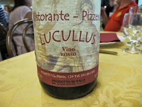 Photo: It.s5ITL111-141007Pompéï ...et non Valenciennes pour le 'Lucullus', ici, c'est le resto avec son vin maison  IMG_5507