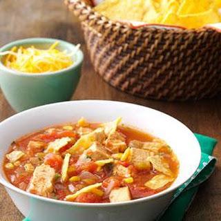 Southwestern Chicken Tortilla Soup