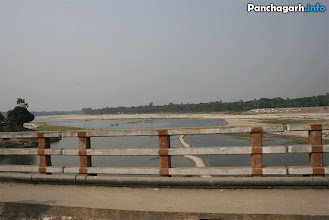 Photo: View of Korotoa river from the Panchagarh bridge