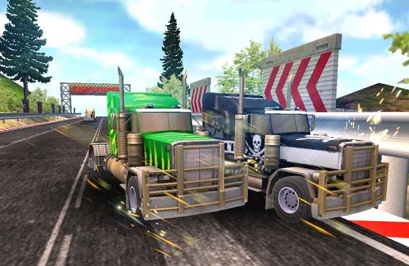 Скриншот Truck Racing соперником