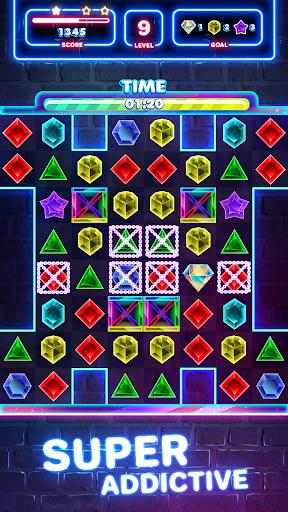 Jewels Quest 2 - Glowing Match 3 1.0.0 screenshots 7