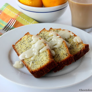 Incredible Lemon Poppy seed Pound Cake