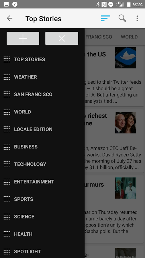 News Google Reader Pro- screenshot