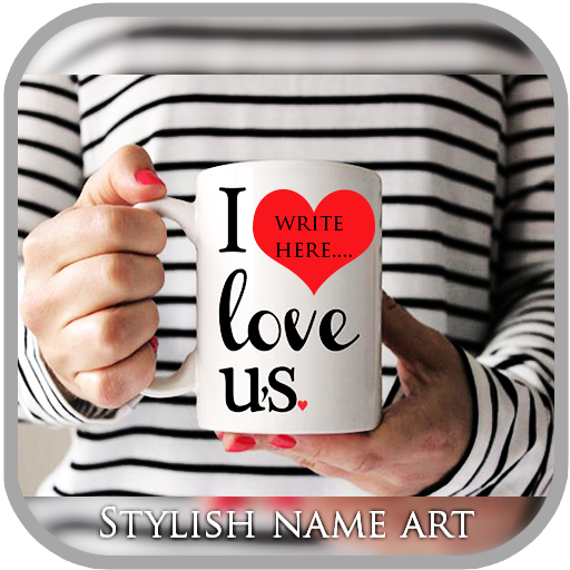 MugArt Stylish Name Maker Mug app (apk) free download for