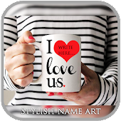 MugArt Stylish Name Maker Mug