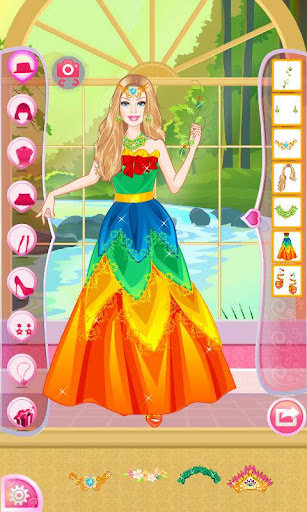 Mafa Earth Princess Dress Up