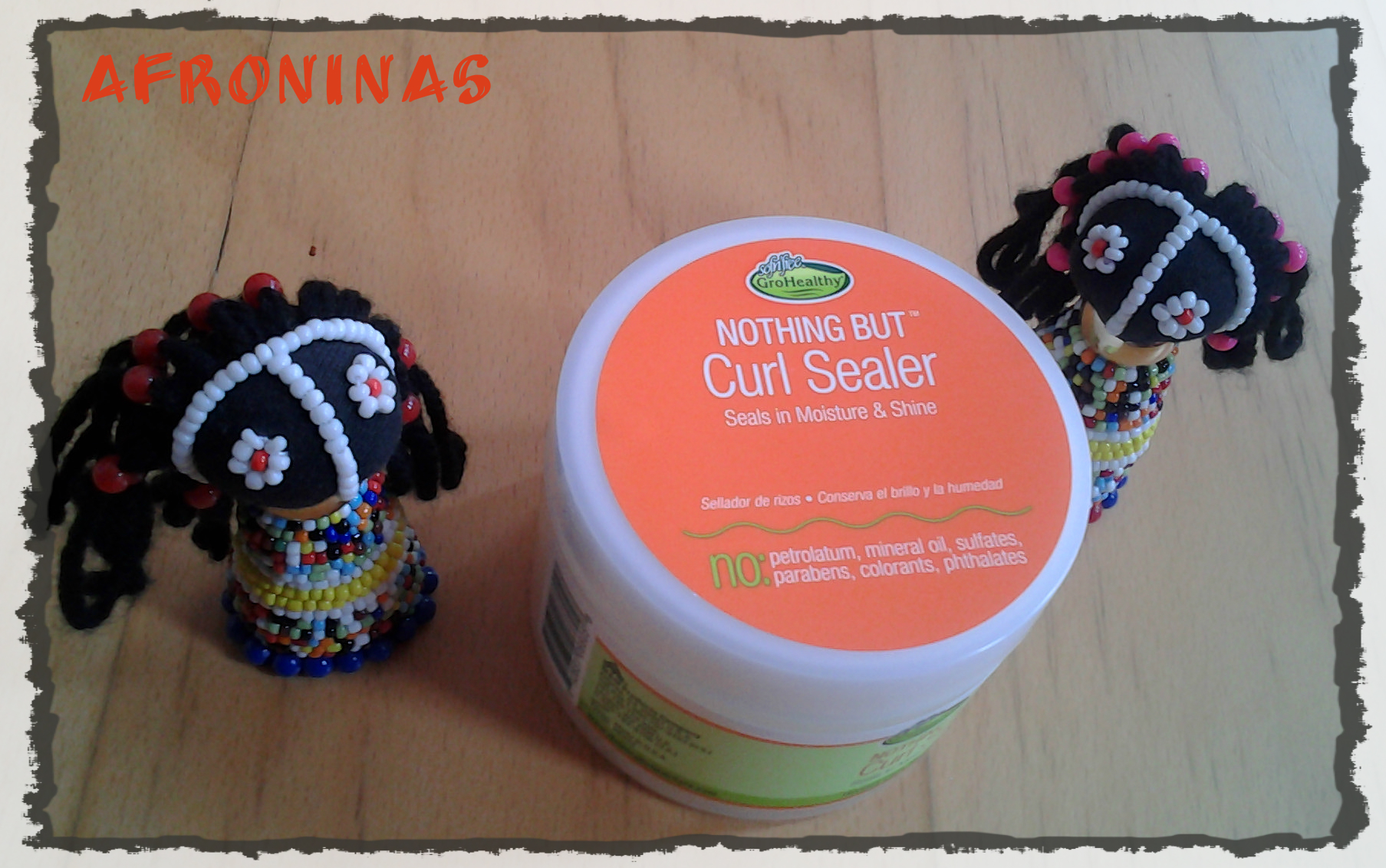 Photo: Nothing But Curl Sealer