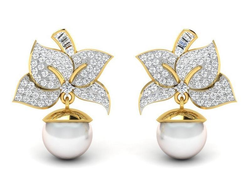 Luxury Gold Earring Designs Image Download Jewellrys Website