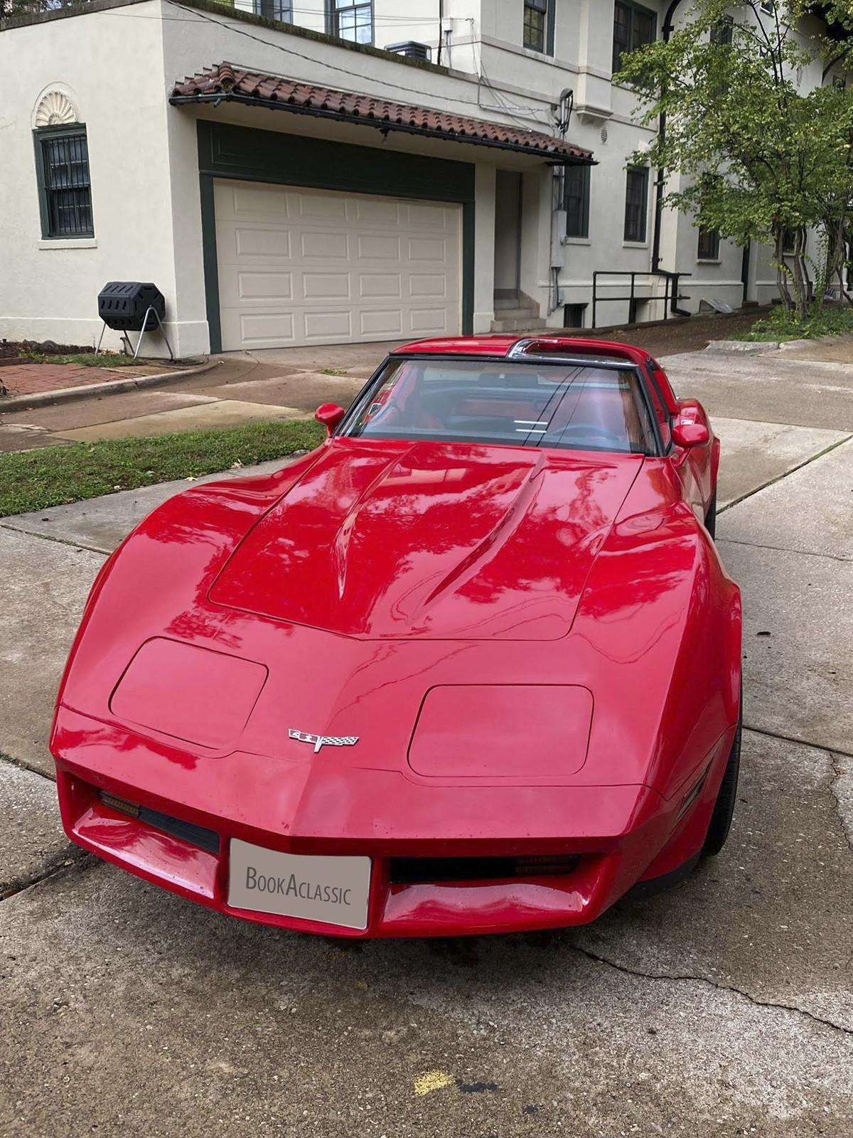Chevrolet Corvette Hire Saint Louis