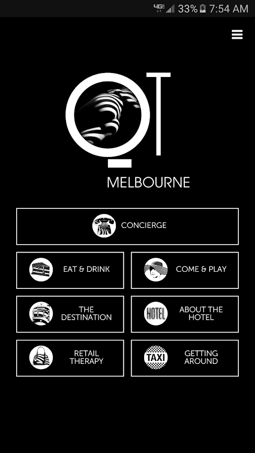 QT Hotels & Resorts Concierge- screenshot