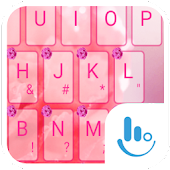 Pink Carnation Keyboard Theme