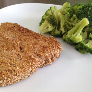 Tuna With A Sesame Seed Crust