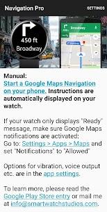 Navigation Pro: Google Maps Navi on Samsung Watch APK 7