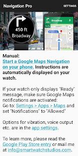 App Navigation Pro: Google Maps Navi on Samsung Watch APK for Windows Phone