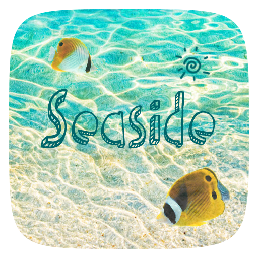 Seaside Animated Go Keyboard Theme