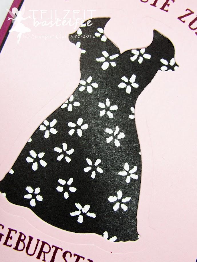 Stampin' Up! - IN{K}SPIRE_me Color Challenge #338, Dress Up Framelits, DP Blütenfantasie, Petal Passion Designer Series Paper, So viele Jahre, Number of Years