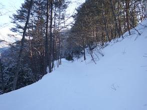 林道は初めから雪道