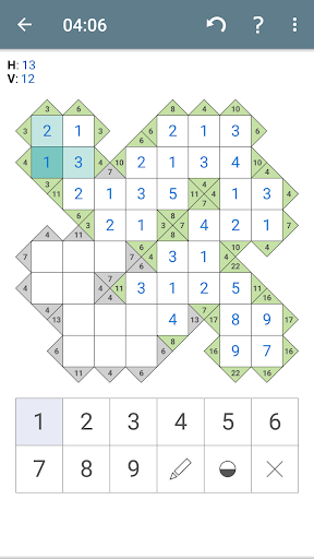 Kakuro (Cross Sums) apkpoly screenshots 4