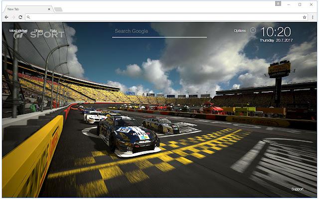 Chrome Web Store Wallpapers Cars Gran Turismo Sport Wallpaper Hd New Tab Free Addons