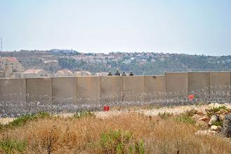 Photo: Bil'in, West Bank.