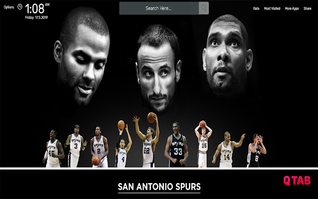 NBA San Antonio Spurs Wallpapers