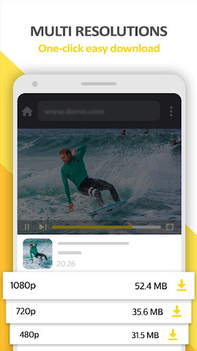 Mp4 Video Downloader - Video locker screenshots 2