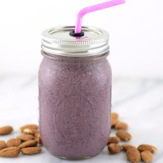 Cherry Almond Smoothie (Vegan).