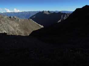 Photo: On the trail towards Pico Humboldt