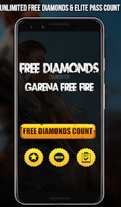 Free Diamonds & Elite Pass Calc For Free Fire-2019 1.1