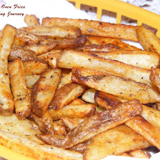 Homemade Oven Fries (herbed)