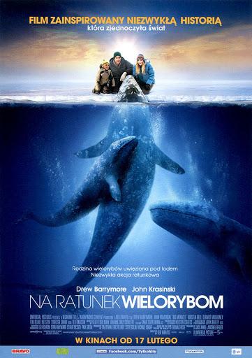 Przód ulotki filmu 'Na Ratunek Wielorybom'